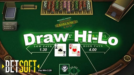 Casino Table Games Draw Hi-Lo