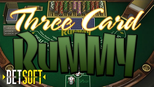 Casino Table Games Three Card Rummy