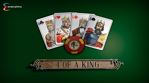 Play online Casino 4 Of A King
