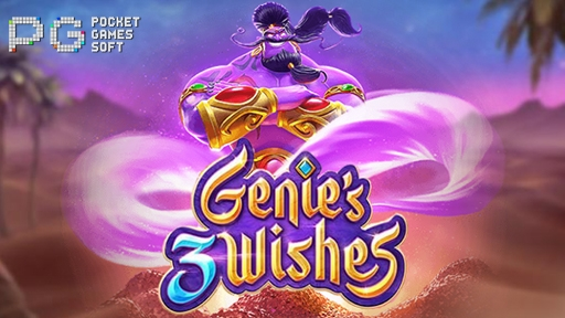 Casino 3D Slots Genies 3 Wishes