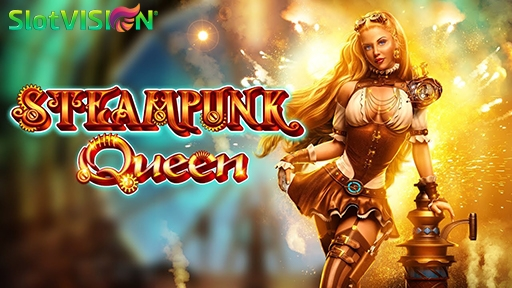 Casino 3D Slots Steampunk Queen