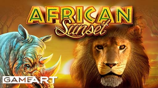 Casino Slots African Sunset