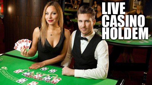 Live Casino Hold'em from Evolution Gaming