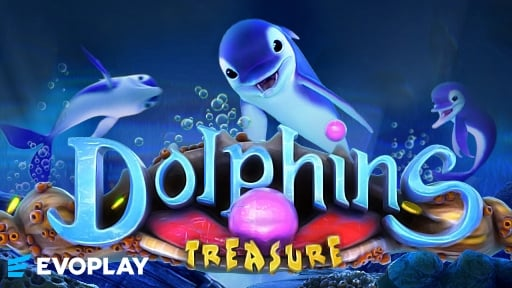 Casino 3D Slots Dolphins Treasure