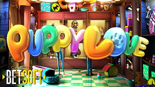 Casino 3D Slots Puppy Love Plus