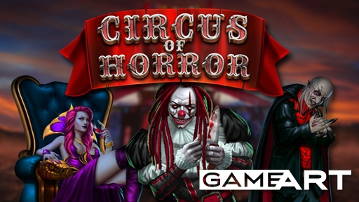 Casino Slots Circus of horror