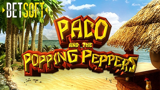 Casino 3D Slots Paco and the Popping Peppers