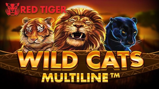 Casino 3D Slots Wild Cats Multiline