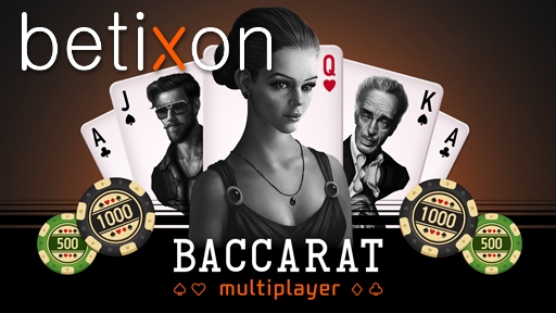 Casino Table Games Multiplayer Baccarat