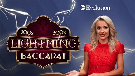 Play online Casino Lightning Baccarat