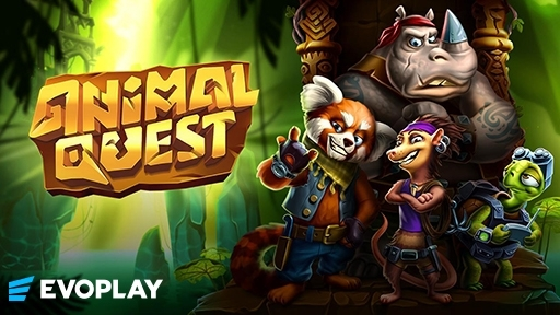 Play online Casino Animal Quest