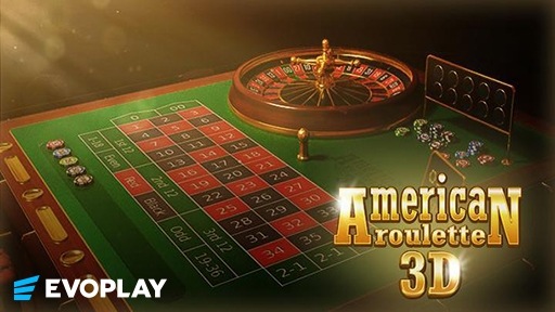 Casino Table Games American Roulette 3D