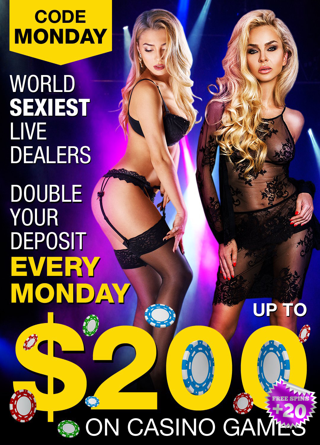 free-casino-bonus-every-monday-upto-200-20-free-spins